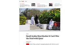 Time Magazine: Saudi Arabia must realise it can't win feud with Qatar