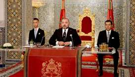 Morocco's king pardons protesters arrested in Rif region