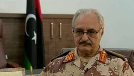 Libya Militants kill 5 in attack on strongman's forces