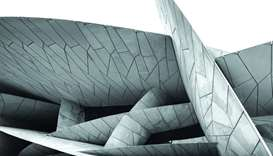 The National Museum of Qatar's interlocking discs are inspired by the desert rose.