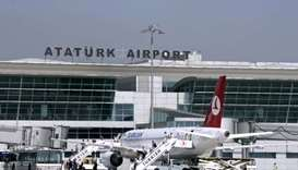 Battery thrown by passenger catches fire at Istanbul airport