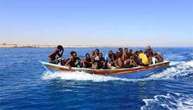 35 migrants feared drowned off the Libyan coast