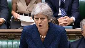 PM May seeks unity amid turmoil over Brexit strategy