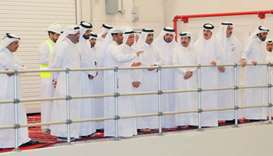 Advisory Council Speaker visits mega strategic reservoirs project in Al Thumama