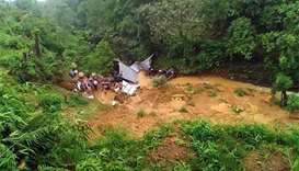 15 dead in monsoon floods, landslides in India