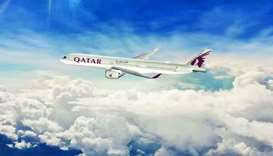 Qatar Airways' ultra-modern A350-1000 that will be on display at this year's Farnborough Internation