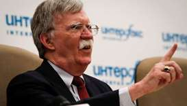 US has plan to dismantle N. Korea nuclear program within a year -Bolton