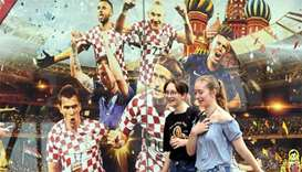 Croatian fans aim to be in Moscow for World Cup final