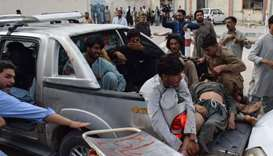 Suicide bomb kills 85 at Pakistan election rally