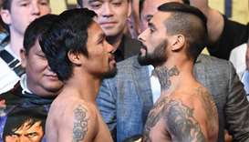 Pacquiao 'ready' to regain title after weigh-in with Matthysse