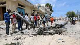 Speeding car explodes in Somali capital after police shoot at it