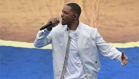 Will Smith brings down curtain on Russia World Cup