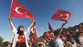 Turkey marks second anniversary of coup bid AFP