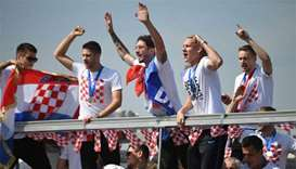 Croatians give heroes' welcome to World Cup squad