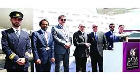 Qatar Executive unveils Gulfstream G500 at air show