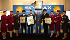 Qatar Airways wins four Skytrax awards