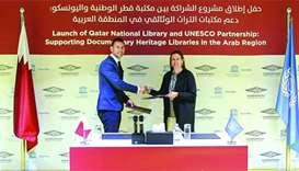 QNL, Unesco deal to preserve Arab documentary heritage