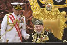 Malaysian king calls for unity