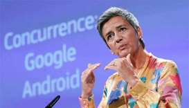 Google to appeal record $5bn EU antitrust fine