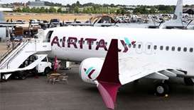 Air Italy's new Boeing 737 MAX 8 steals show at Farnborough