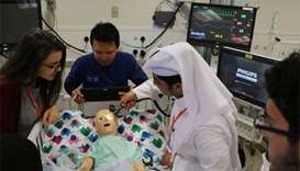 83 youth explore life as WCM-Q medical students
