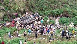 Bus accident in Pauri district in Uttarakhand