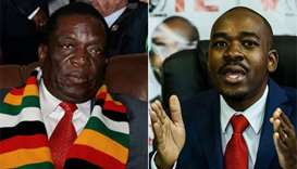 Zimbabwe presidential election too close to call - poll