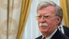 Bolton warns Syria against use of chemical weapons