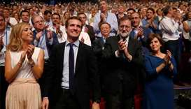 Spain's conservatives swing to right as new leader chosen