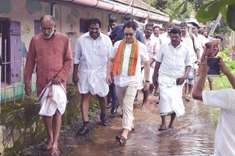 Central team visits Kerala to assess rain damage
