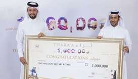 Barwa Bank customer wins QR1mn grand prize