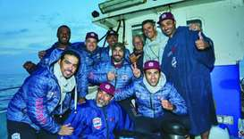 Team Qatar Channel Swim makes history