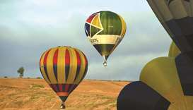 Hot air balloonists flock to Italy for 'free, happy' time