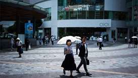 Record heat broils Japan, prompting warnings