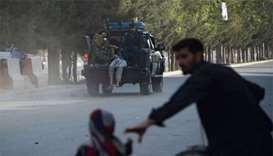 Three wounded as rockets are fired into Kabul