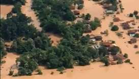 Hundreds missing in Laos after partly built dam collapses