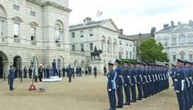 Amir attends launch ceremony of Qatar-UK operational squadron