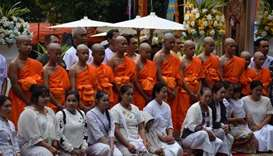 Thailand's cave boys ordained as Buddhist novices