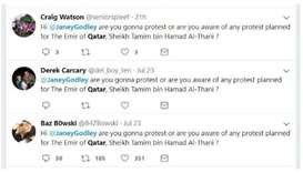Twitter campaign to hold anti-Qatar 'protest' also failed