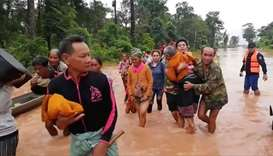 Laos dam collapse leaves 19 dead, 3,000 need to be rescued
