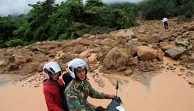Laos dam death toll climbs to 27 as search efforts continue