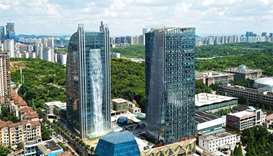 China 'waterfall' skyscraper hit by torrent of ridicule