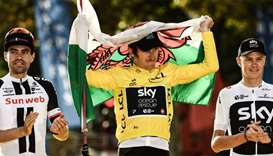 Thomas hailed as 'Perfect Poster boy' after Tour de France win