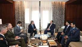 Defence Minister meets US defence official