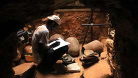 Recording of the archaeological finds