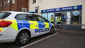 Two people fall critically ill near UK nerve poisoning town