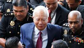 Malaysia's Najib pleads not guilty to charges in 1MDB graft probe
