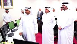 His Highness the Deputy Amir Sheikh Abdullah bin Hamad al-Thani commissioned  the first phase of the