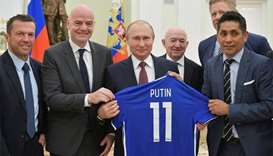FIFA chief says 'we all fell in love with Russia'