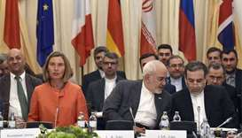 Iran's FM hails 'will to resist' US pressure on nuclear deal